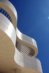 The Getty Center - curves