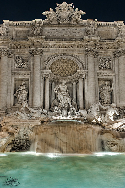 Trevi Fountain - Rome, Italy