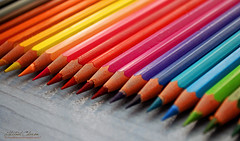 Colored Pencils II - Rainbow Colors