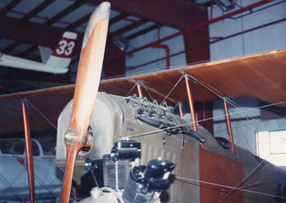 "Curtiss JN4D ""Jenny"" #4983, before restoration"
