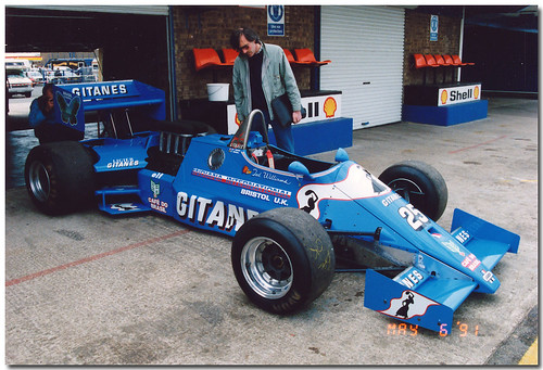 1983 Ligier Ford JS21 F1. 3.0 Litre F1 25 Year Celebration Donington Park 1991
