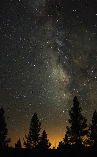 coconinonationalforest marshalllake meteorshower