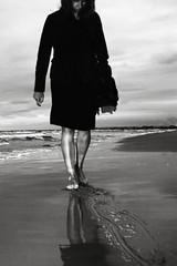 walk along beach