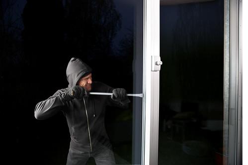 Funk-Fenstersicherung FTS96E mit Einbrecher