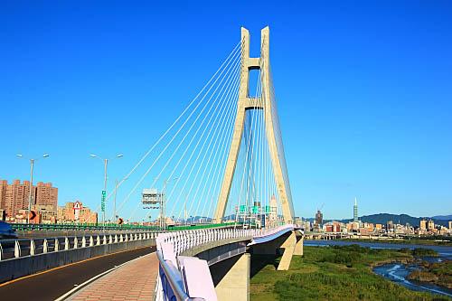 784J二重疏洪道斜張橋-新北大橋
