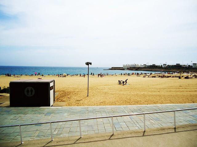 playa La Mar Bella,Barcelona Mar Bella beach  Flickr - Photo Sharing!