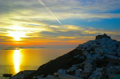 Sunrise in Astypalaia island