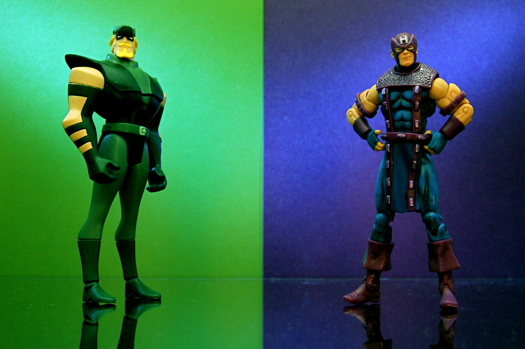 Green Arrow vs. Hawkeye (268/365)