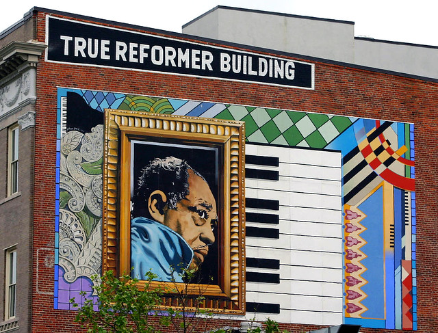 duke ellington mural thanks to dbking for the photo art