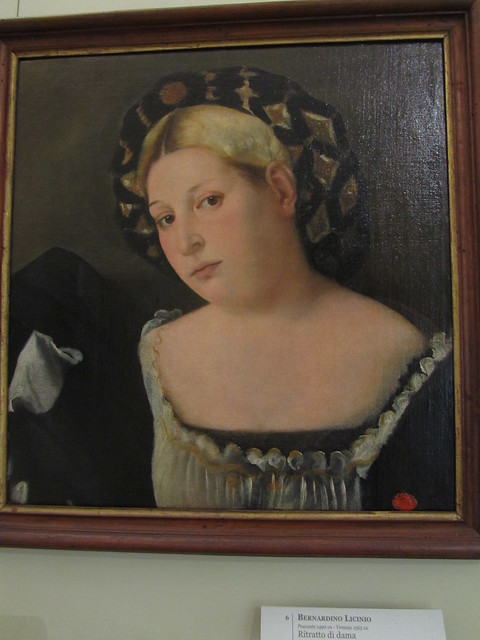 "Portrait of a Woman with ""l'Acconciatura detta 'il Balzo'"""