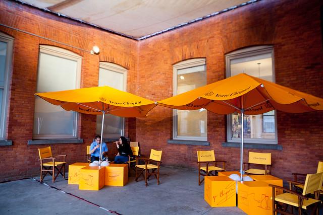 VIP Veuve Clicquot lounge
