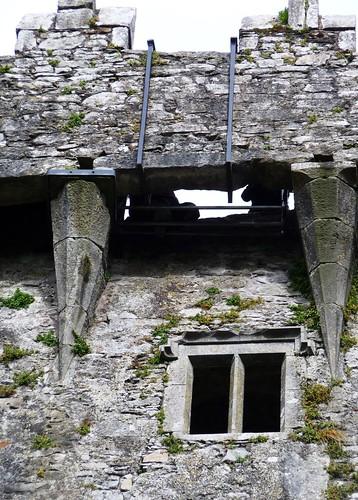 Ground View of Blarney Stone