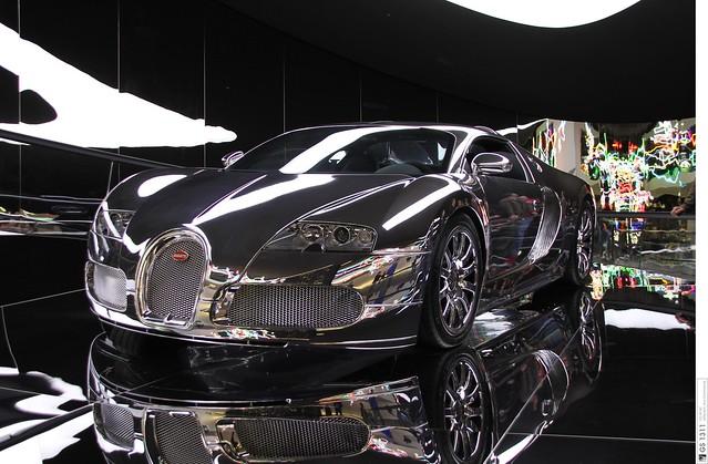 2008 bugatti veyron 16 4 mirrored verspiegelt 03. Black Bedroom Furniture Sets. Home Design Ideas