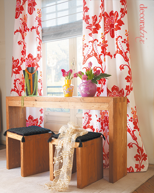 Cortinas estampadas con estor a photo on flickriver - Estor con cortina ...