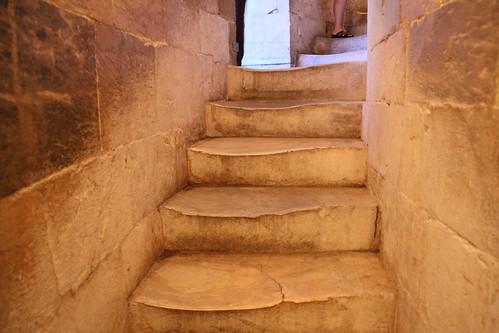 Escadas da Torre de Pisa