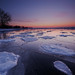 Harbour Ice III by Peter Bowers