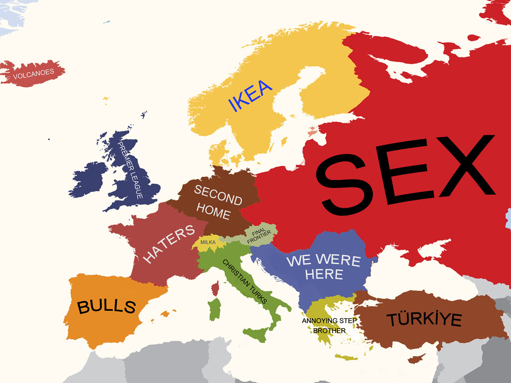Map Of Europe And Turkey.Europe According To Turkey Europe According To Turks Euro Flickr