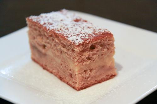 Rhubarb Coffee Cake With Greek Yogurt