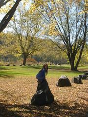 Olivia Jumping on Rocks