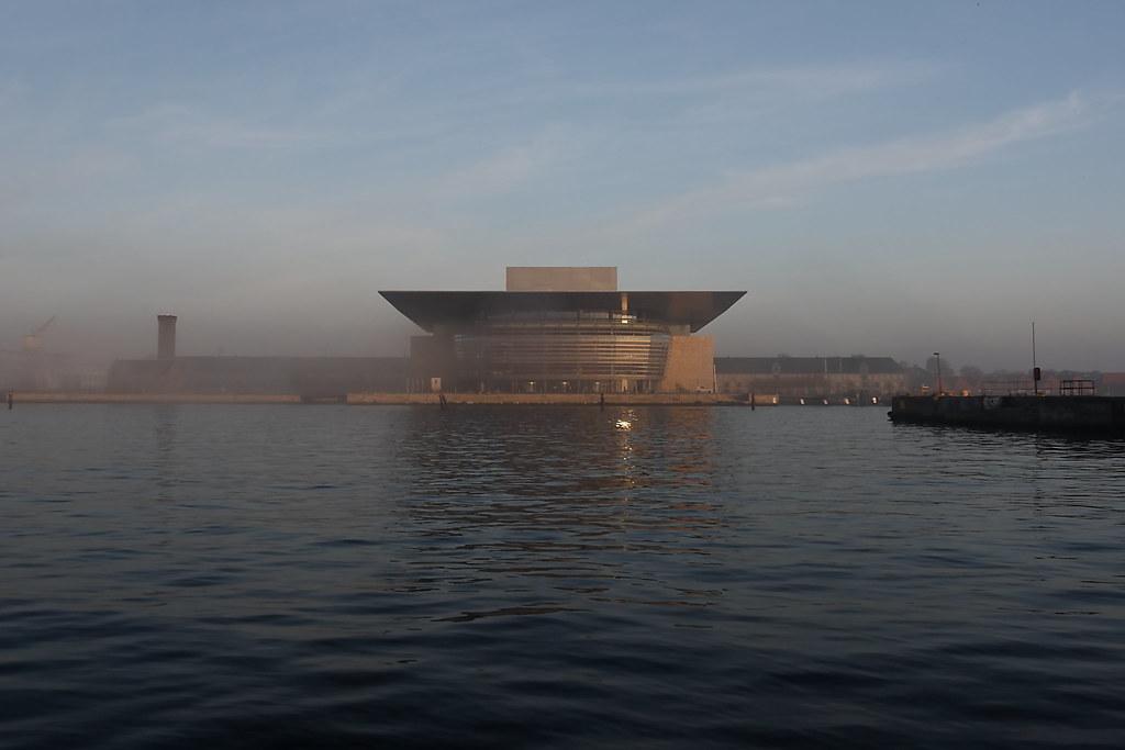 Fog in Copenhagen