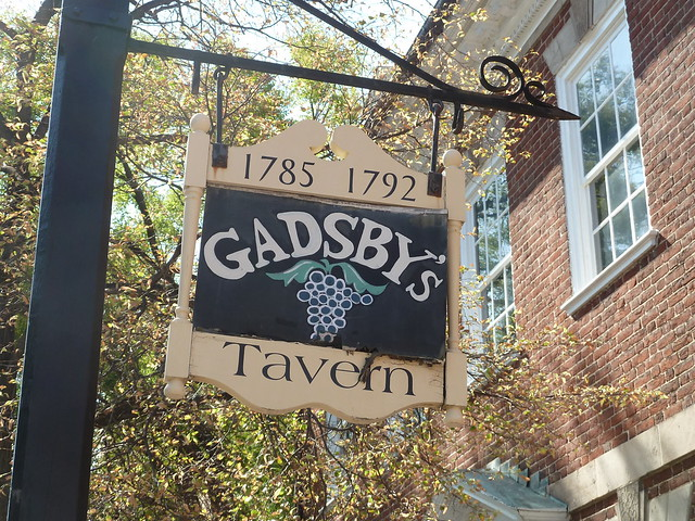 Gadsby's Tavern in Alexandria Virginia