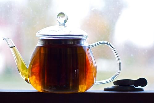 Tea in the sun (Not sun tea)