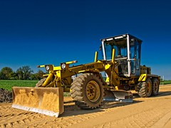 agriculture, field, soil, vehicle, construction equipment, bulldozer, land vehicle, tractor,