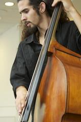bowed string instrument(0.0), violinist(0.0), bassist(0.0), violin(0.0), viola(0.0), fiddle(0.0), bass guitar(0.0), violist(0.0), classical music(1.0), string instrument(1.0), viol(1.0), double bass(1.0), cello(1.0), string instrument(1.0),