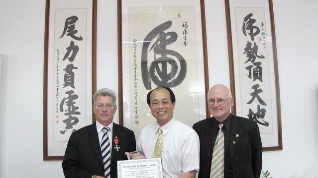 2010年5月份-金色山莊安排Hauraki市長拜會雲林縣虎尾鎮長