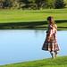 Annika at the Pond