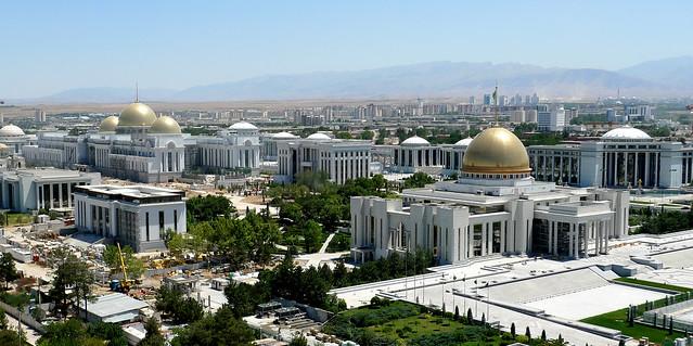 Aşgabat (Turkmenistan) - City centre
