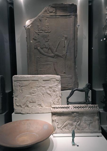 the sphinx like well armed god tutu (rmo leiden)
