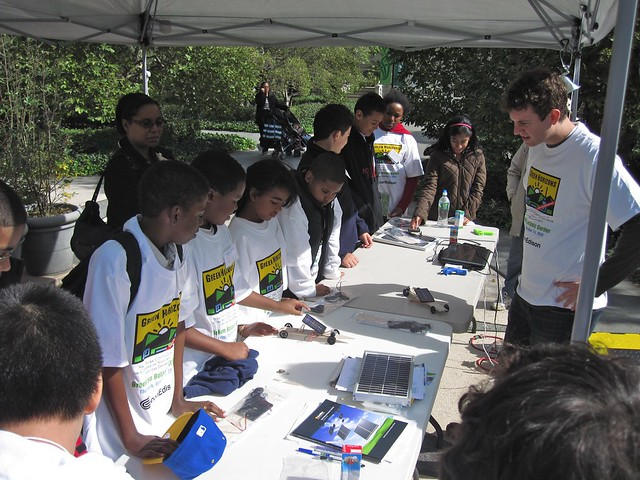 Green Horizon students learn about solar power and build a solar powered car with Green Power Solutions.