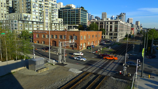 Developers have bought the two-story historic warehouse across from Seattle's waterfront that's been home to the Old Spaghetti Factory for 45 years, officials said Monday.