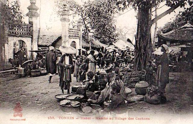 Hanoi Marché au Village des Cochons (2)