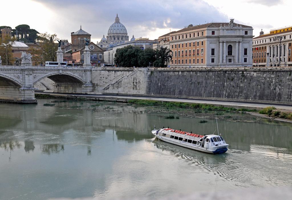 crucero por el Tiber