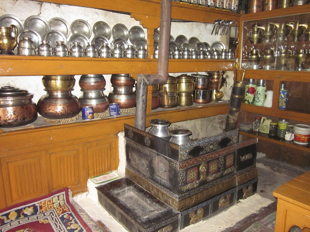Inside of a homestay, India