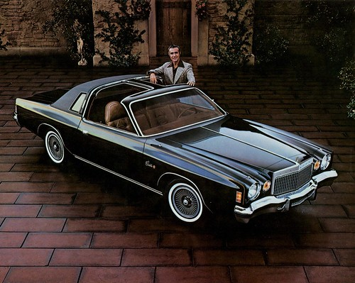 1977 Chrysler Cordoba With T Bar Roof Many Of You Will