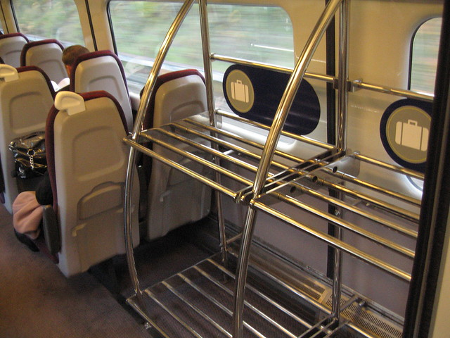 Photo:Luggage space on Charter Train By:Train Chartering & Private Rail Cars