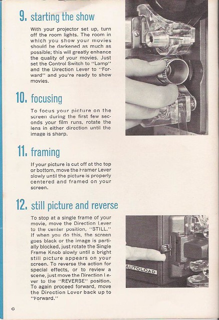 Bell And Howell Autoload Camera Manual