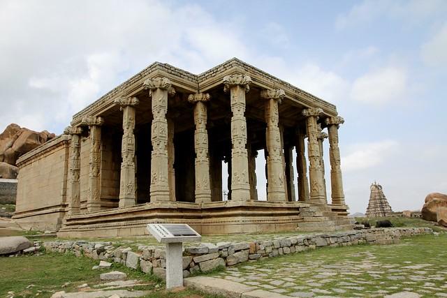 Hampi  Ganesh Monoliths Kadlekalu Ganesha