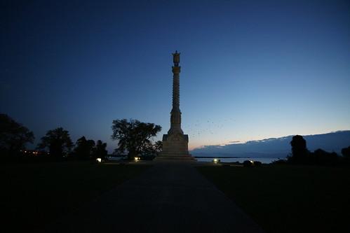monument sunrise dawn virginia victory revolution hamptonroads tidewater