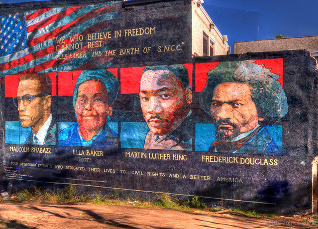 Freedom Mural We Who Believe In Freedom Cannot Rest