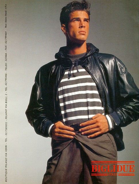 Male Fashion 1980s http://www.flickr.com/photos/51774232@N08/5187432845/