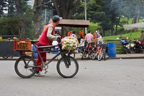 Bogotá: Bici de carga