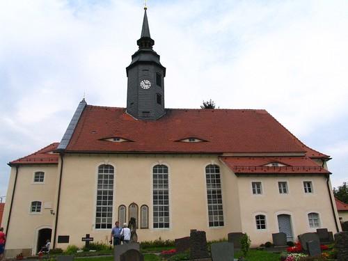 Niederschöna - Dorfkirche, exterior