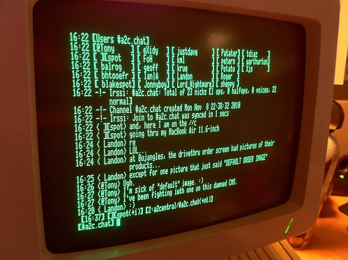 IRC on the Apple //c