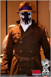 VA Comicon Rorschach