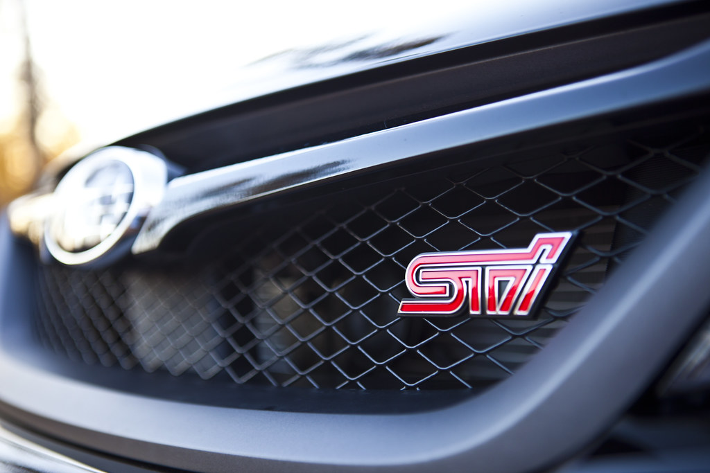 2011 Subaru Impreza WRX STI - Grill