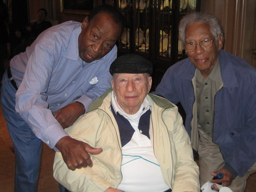 Dave Bartholomew, Cosimo Matassa, Herb Hardesty. Photo by Sally Young.